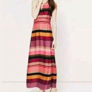 Ann Taylor Loft Striped Maxi Dress